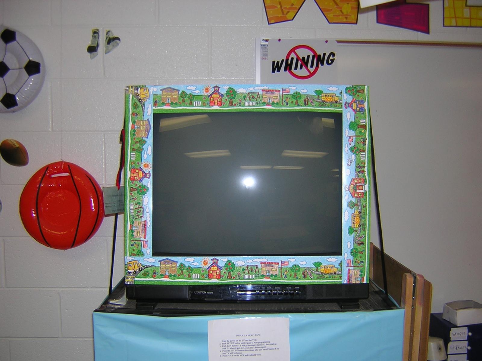 TV amp Computer Monitor Decorations Zacktivities